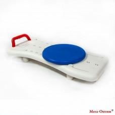 Cиденье с поворотным диском для ванной с поручнем SC6045C-l