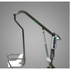 Енисей ИПБ-170 ЭП (полированная нержавеющая сталь) подъемник для бассейна (с электроприводом LINAK и аккумулятором)