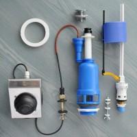 Система смыва для туалета с педальным приводом с нижним или боковым подводом воды