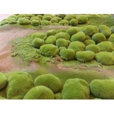 """Искусственный мох """"камушки"""" дизайн № 12"""
