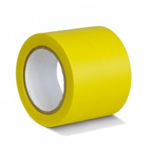 Контрастная лента для разметки 100мм х 33м, желтая