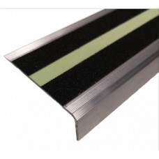 Алюминиевый угол 71Х25 мм (под ленту 50 мм)