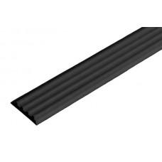 Тактильная направляющая лента 29 мм, черная