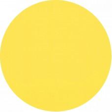 Желтый круг - наклейка для маркировки дверей