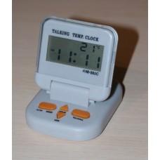Говорящий будильник GM-201 с термометром