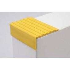 Самоклеющийся резиновый противоскользящий угол 44 мм, желтый