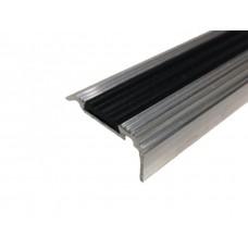 Алюминиевый угловой порог ЭКО-35х21 с резиновой вставкой