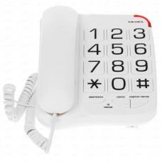 Телефон проводной для слабовидящих teXet TX-201