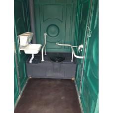 """Туалетная кабина """"Для инвалидов"""" (1300x2500x2200 мм)"""