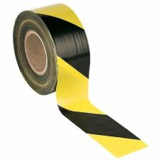 Контрастная лента для разметки 50мм х 22м, желто-черная
