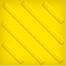 Тактильная плитка ПВХ (диагональ, 300х300 мм)