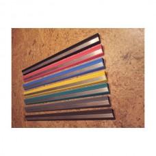 Резиновая полоса с одной алюминиевой вставкой 45мм х 6мм