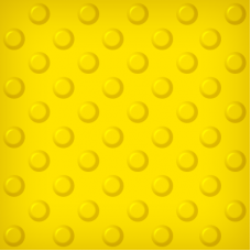 Тактильная самоклеящаяся плитка ПВХ (шахматный конус, 300х300 мм)