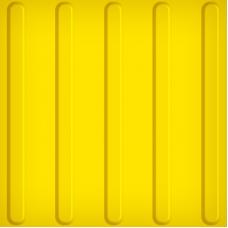 Тактильная плитка ПВХ (полоса, 300х300 мм)