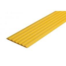 Тактильная самоклеющаяся лента 50 мм, желтая