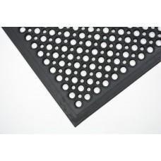 Грязезащитный резиновый ячеистый коврик с окантовкой